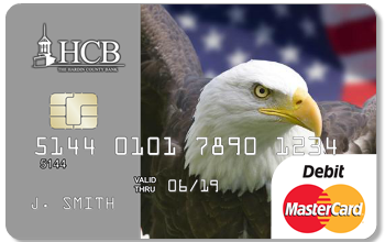 Debit card with 2